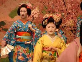 Gion Geisha Dance 5 by calger459