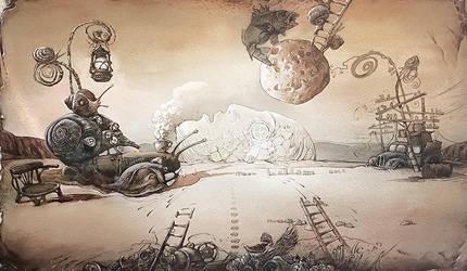 Martian chronicles. Air by artfactotum