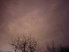 Weird Christmas sad sky by Arnax