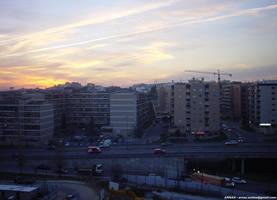 Sunset at Braga I by Arnax
