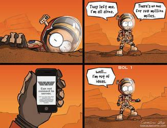 The Martian by nick-georgiou