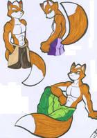 THREE FOX'S by WhiteFox89