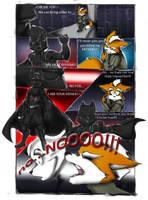 STAR FOX WARS MINI COMIC by WhiteFox89