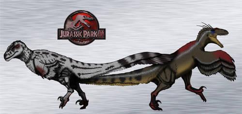 Dinovember day 16 - Utahraptor by kingrexy