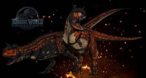 Dinovember day 19 - Carnotaurus by kingrexy