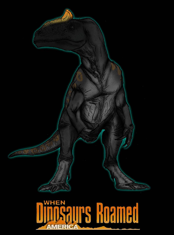 Dinovember day 1: Allosaurus by kingrexy
