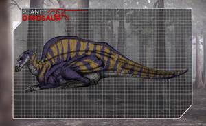 Planet Dinosaur Ouranosaurus by kingrexy