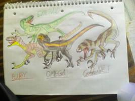 My raptor squad  by kingrexy
