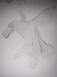 pliosaur but it's a non avian by kingrexy