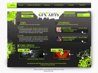 Gfx Arts Interface by steveTM