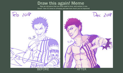 Draw This Again - Sketching 2018 by Hamsolini