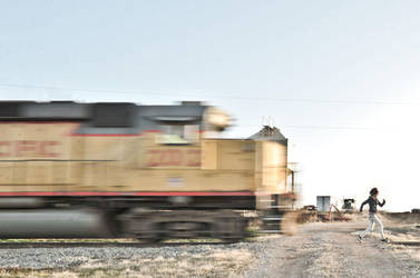 Andrea vs Train by okcdasphoto