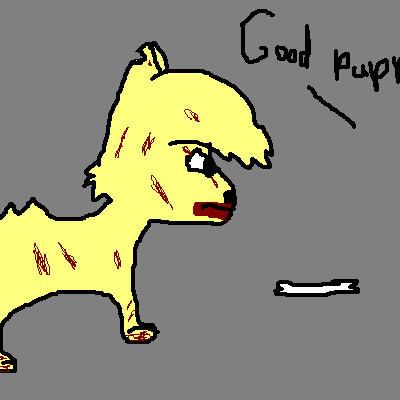 Good Puppy *Runs* by Happygirl2443