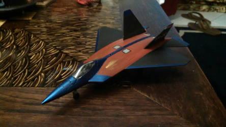 N.L.R F-22 model painted by Sunnydragoon