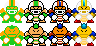 Super Mario Maker-Chargin' Chuck by MegaToon1234