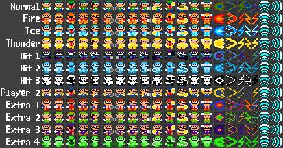 Luigi's Mansion Arcade: Luigi Spritesheet by MegaToon1234