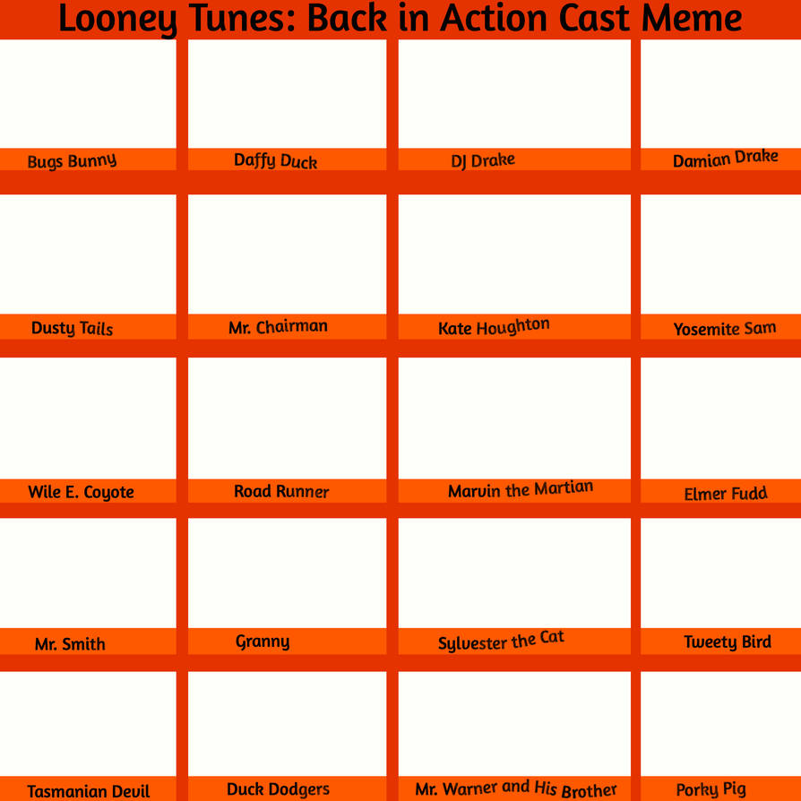 Lt Back In Action Cast Meme Temp Free To Use By Megatoon1234 On