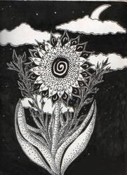 Dark Flower by kittyauroria