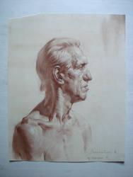 The Old Man. by IvanLaliashvili