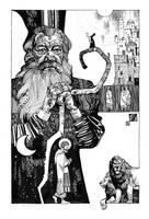 the Prophet Daniel by IvanLaliashvili