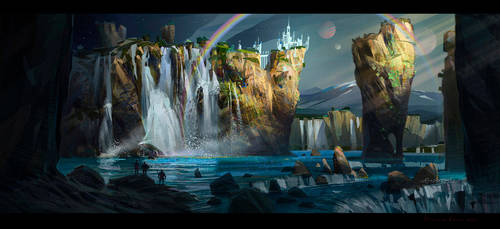 waterfalls_2 by IvanLaliashvili