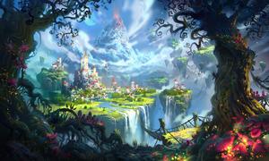 Magic Kingdom by IvanLaliashvili