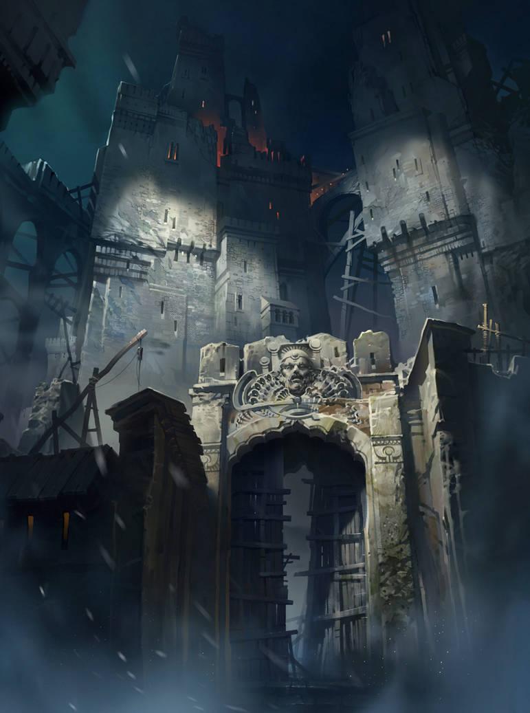 Old castle by IvanLaliashvili