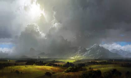 Concept practice 13_landscape with mountains by IvanLaliashvili