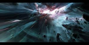 Asteroid mine by IvanLaliashvili