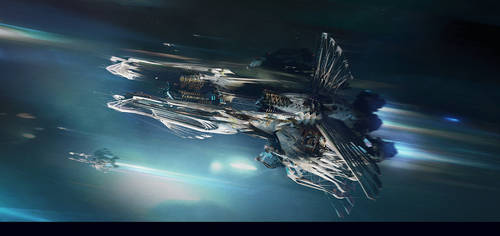 Spaceship_concept by IvanLaliashvili