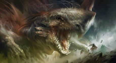Dragon by IvanLaliashvili