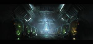 Hypersleep Chambers by IvanLaliashvili