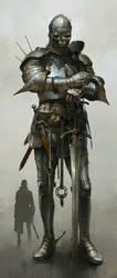 Huge knight(GoT) by IvanLaliashvili