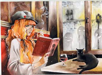 night cafe by Gai-Gaal