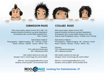 submission rules by RoomMagz