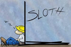 7 Deadly Sins - Sloth by InstantCoffeeBarista