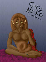 Coko Neko Redux by InstantCoffeeBarista