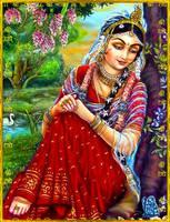 Sri Radha by VISHNU108