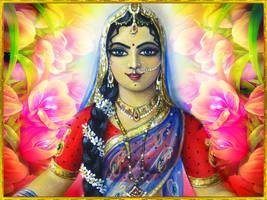 Shrimati Radharani by VISHNU108