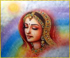 SHRI RADHA by VISHNU108