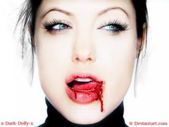 Angelina Jolie blood by x-Dark-Dolly-x