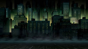 Gotham City Background 7 by PhoenixInTheSnow