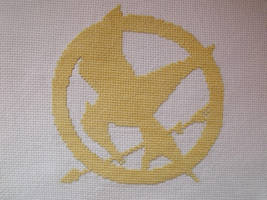 Hunger Games cross stitch by Tifa666