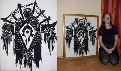 Horde crest by Tifa666