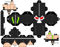 Cubbecraft Bane DC Super Heroes by handita2006