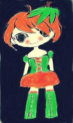 pumpkin girl by stacylyn