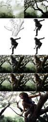 Tomb Raider Contest Process by NuraNooni