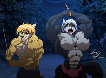 An American Werewolf in Japan teaser by Heliotroph