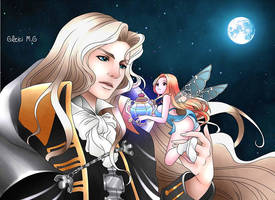 Alucard Castlevania Symphony of The Night by Kiss-me-Baby123