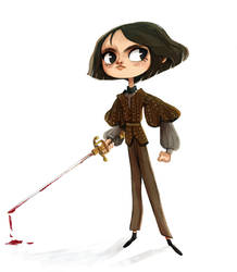 Arya Stark by Siarina